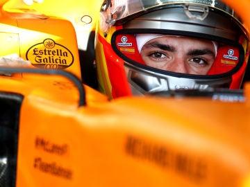 Carlos Sainz en su monoplaza