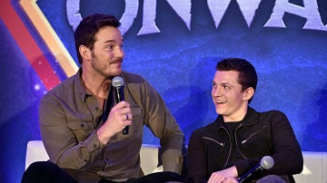 Chris Pratt y Tom Holland