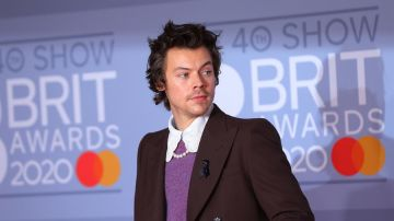 Harry Styles en los Brit Awards