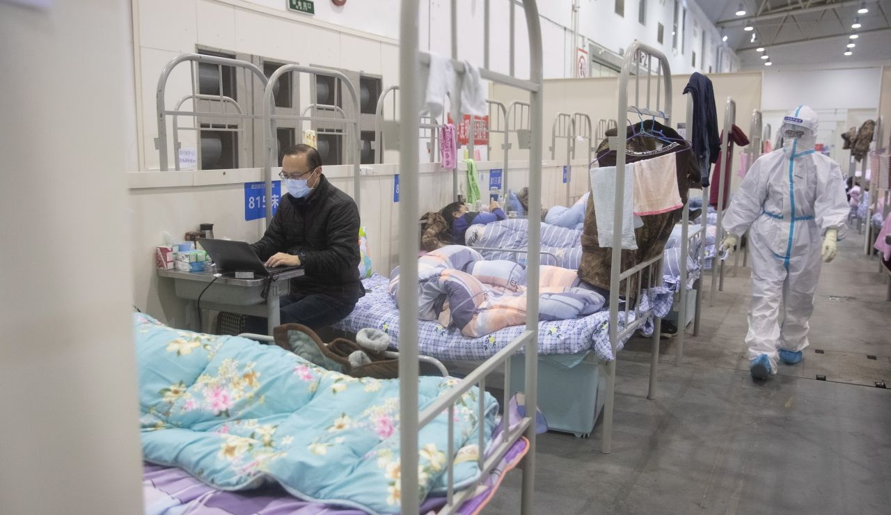 Coronavirus hospital en China