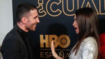 Miguel Ángel Silvestre y Penélope Cruz