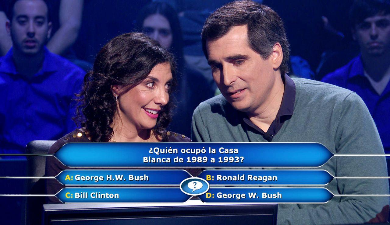 La Casa Blanca mete en un lío a Susana en '¿Quién quiere ser millonario?'