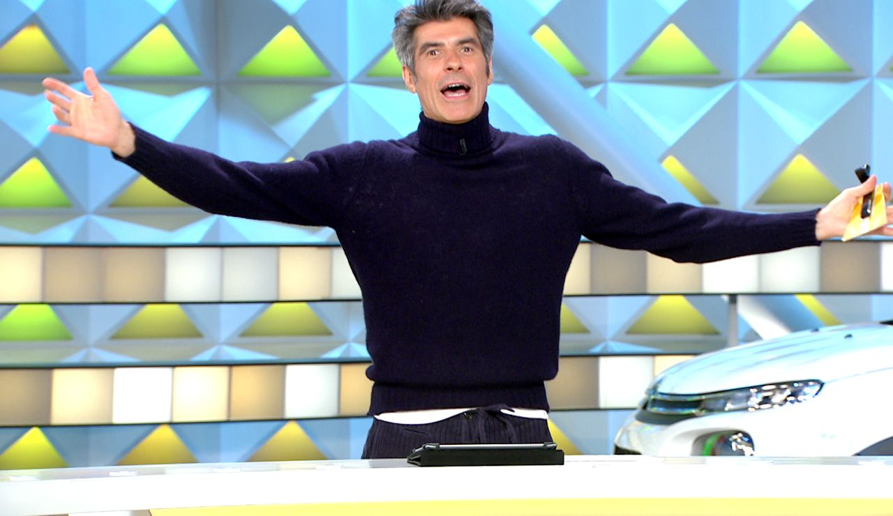 """""""Ahí, sin nada, a pelo"""": Jorge Fernández se sincera sobre su forma de ligar en 'La ruleta de la suerte'"""