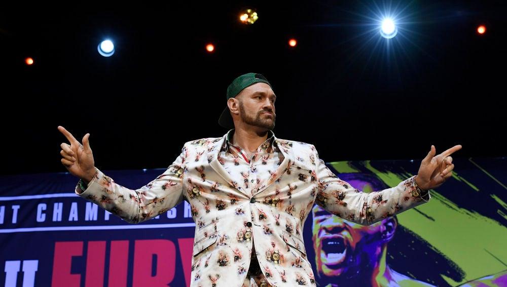 El boxeador Tyson Fury