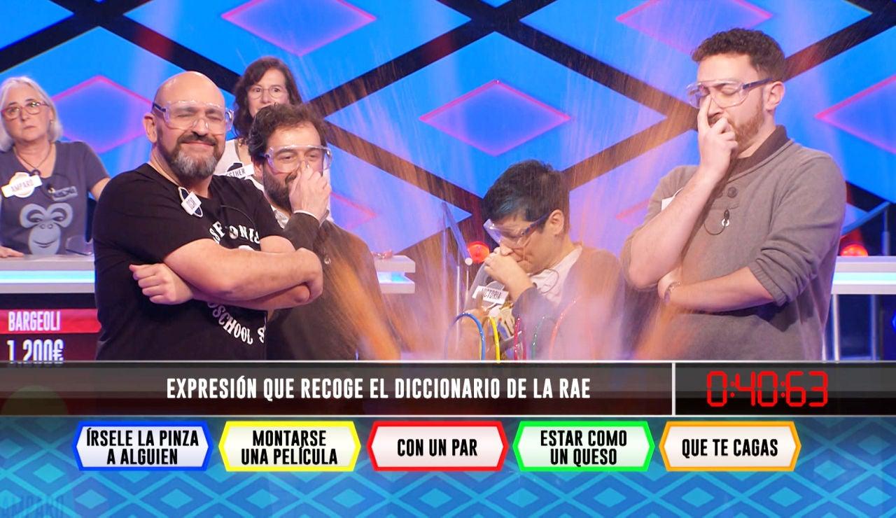 El inesperado y rápido fallo de 'Los dispersos' en una pregunta sobre expresiones españolas en '¡Boom!'
