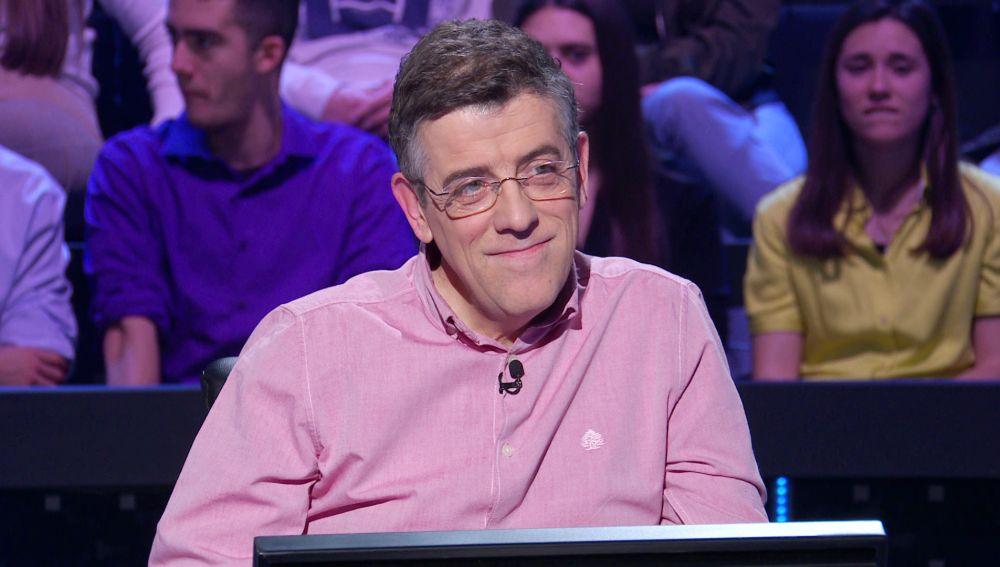 """""""Hay que arriesgarse"""": Jero Hernández se atreve a luchar por los 50.000 euros en '¿Quién quiere ser millonario?'"""