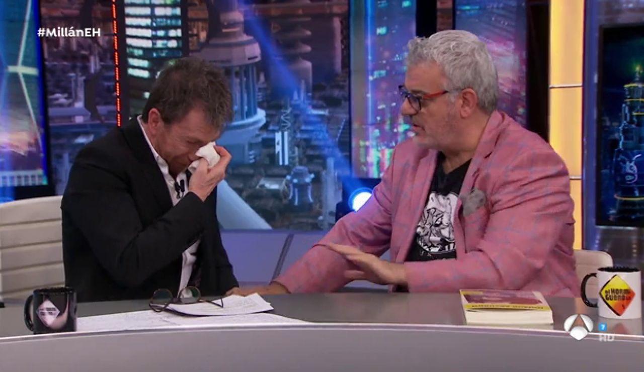 El ataque de risa de Pablo Motos con una anécdota de Millán Salcedo en 'El Hormiguero 3.0'