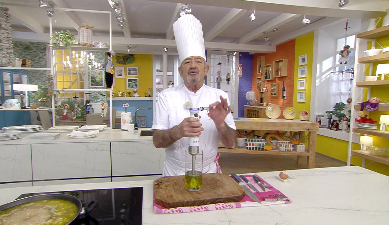 """El secreto que esconde la mayonesa """"con chispa"""" de Karlos Arguiñano"""