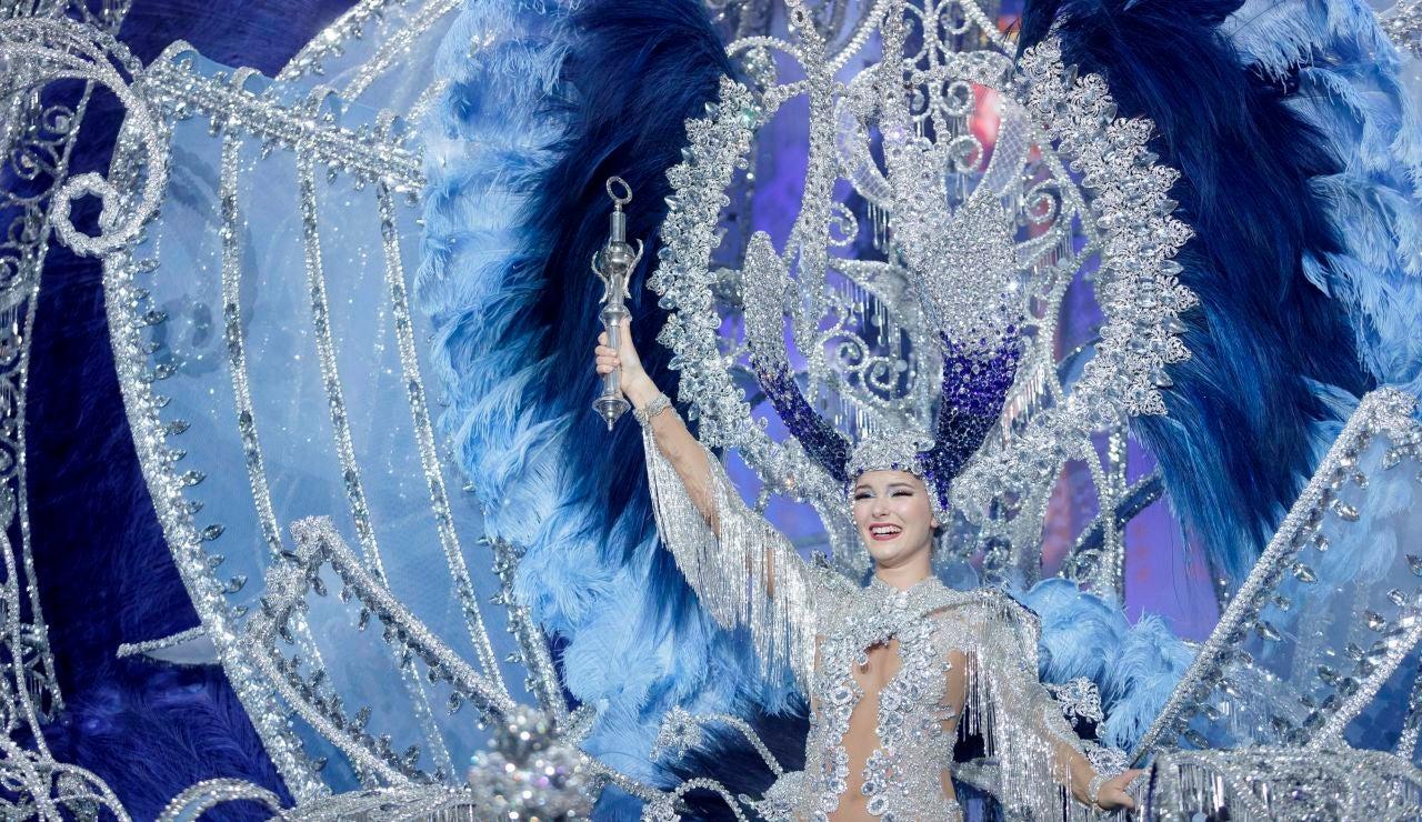 Carnaval Tenerife 2020: Sara Cruz, Reina del Carnaval de Santa Cruz de Tenerife 2020