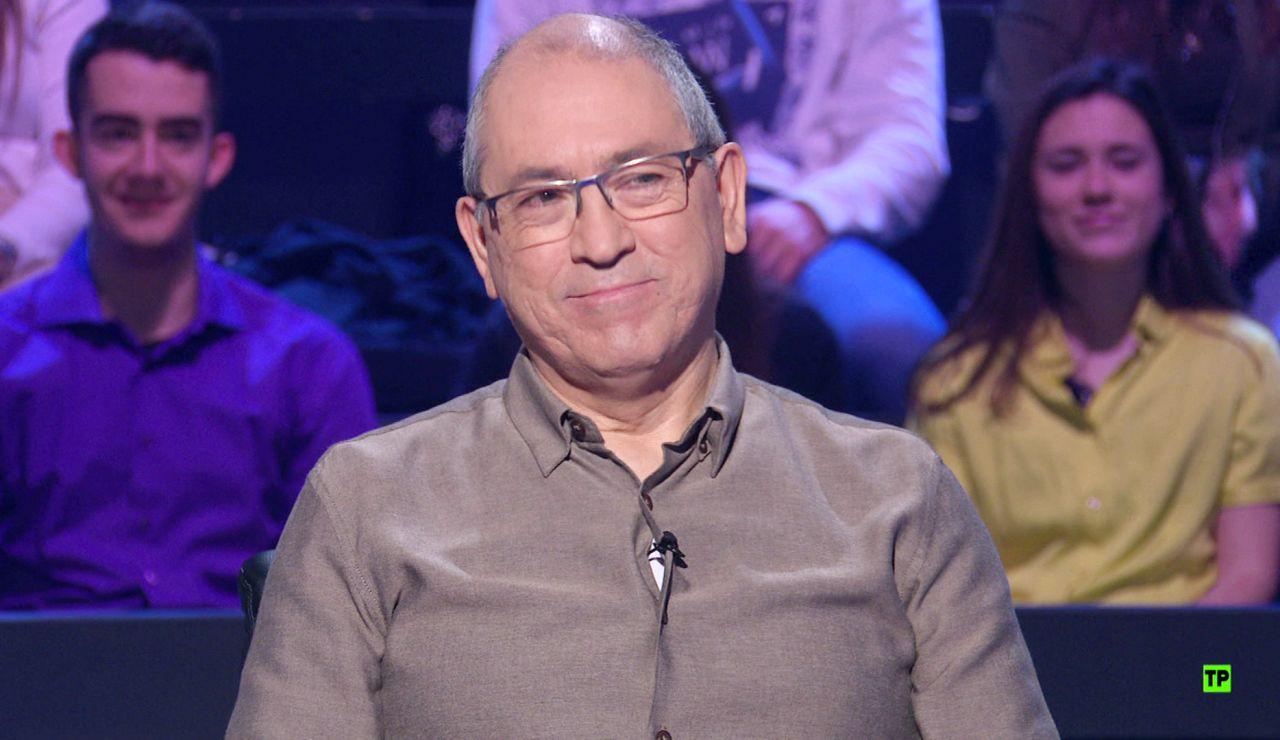 El 'lobo' Alberto Sanfrutos buscará el millón el próximo miércoles en '¿Quién quiere ser millonario?'