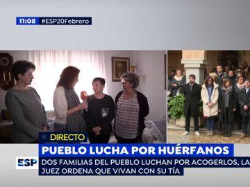 Pueblo lucha por huérfanos.