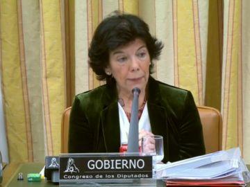 Isabel Celáa, ministra de Educación