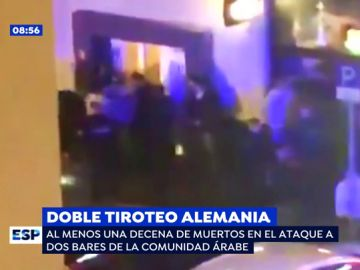 Doble tiroteo en Alemania.