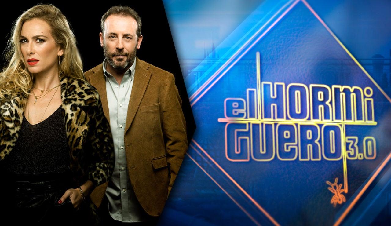 Antonio Molero y Kira Miró en 'El Hormiguero 3.0'
