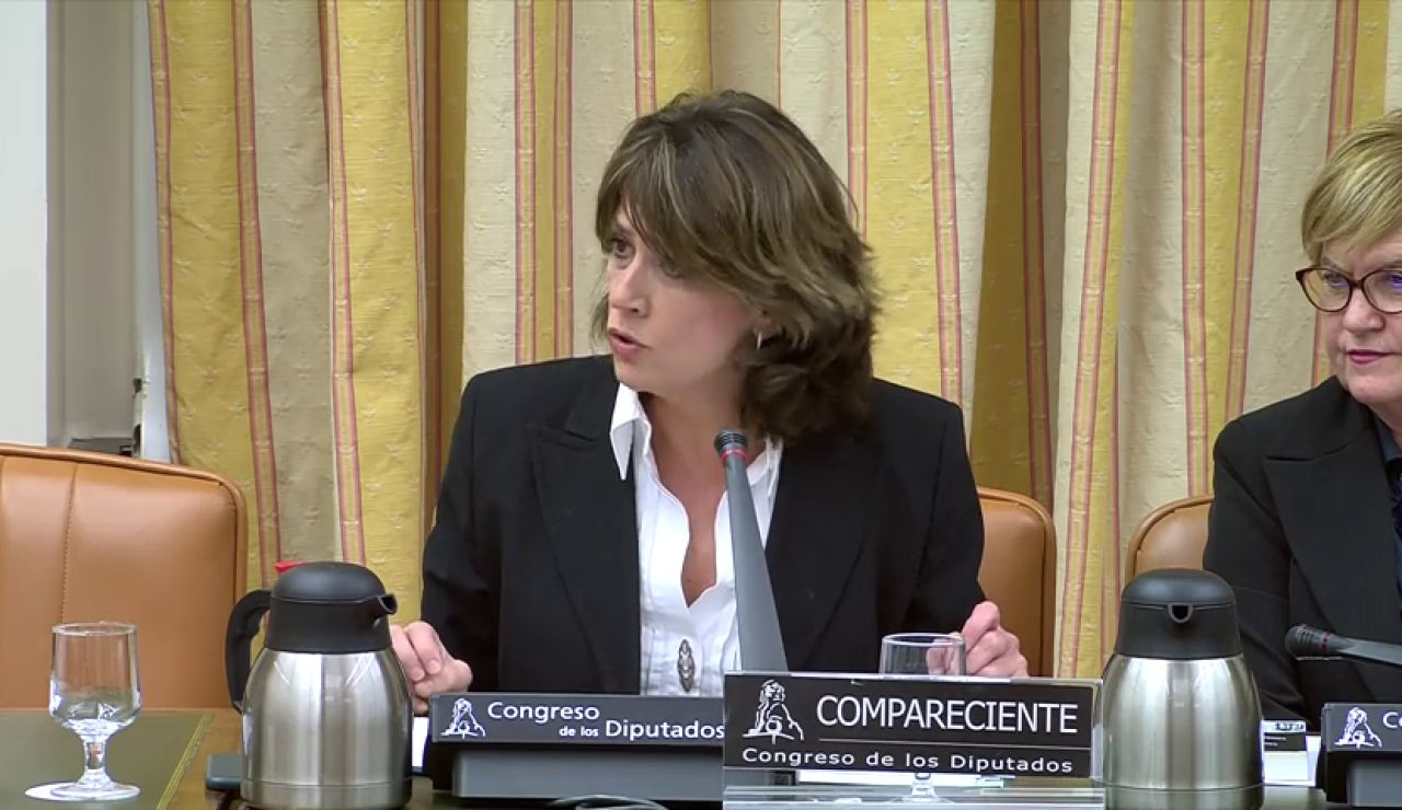 """La nueva fiscal general del estado, Dolores Delgado, ve """"una fortaleza"""" haber sido ministra de Justicia"""