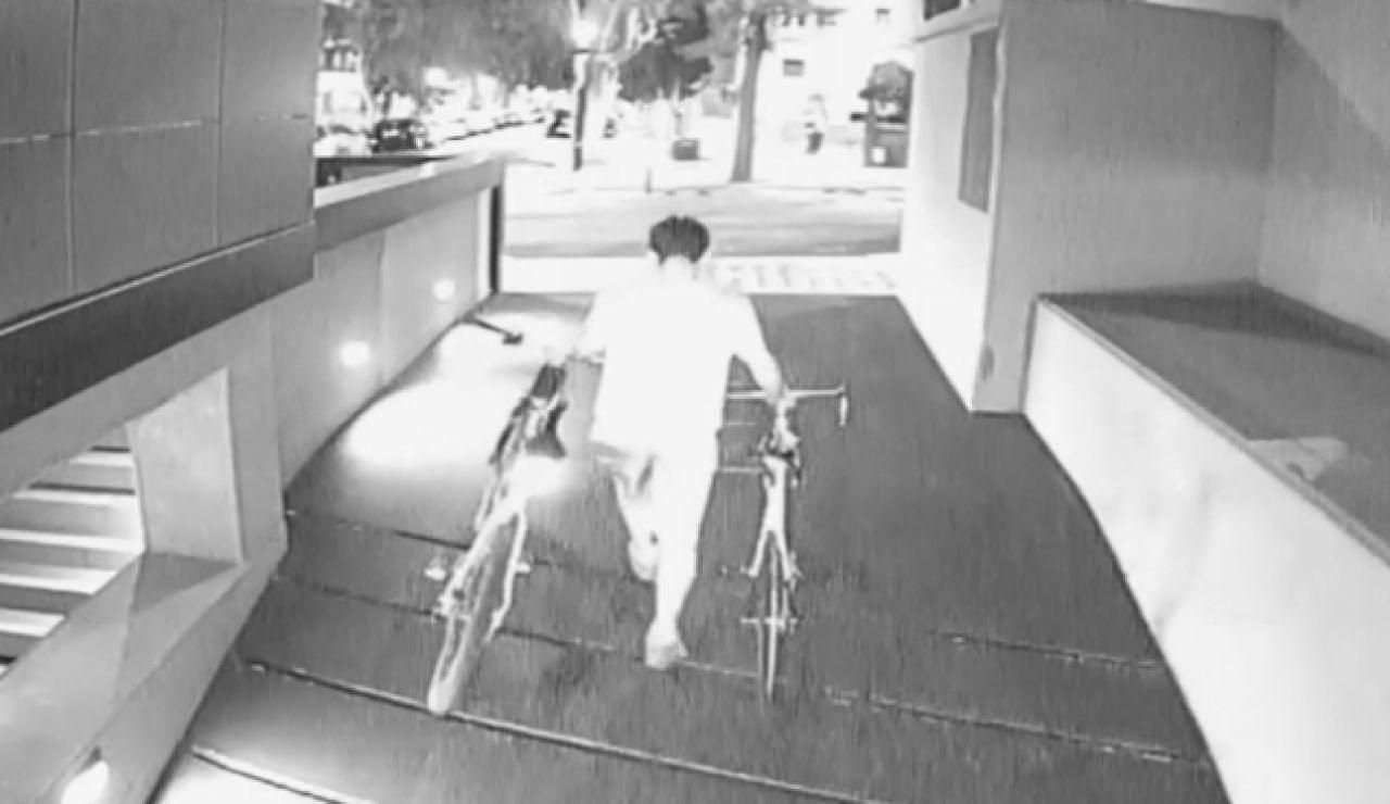 Robo de bicicletas en Barcelona