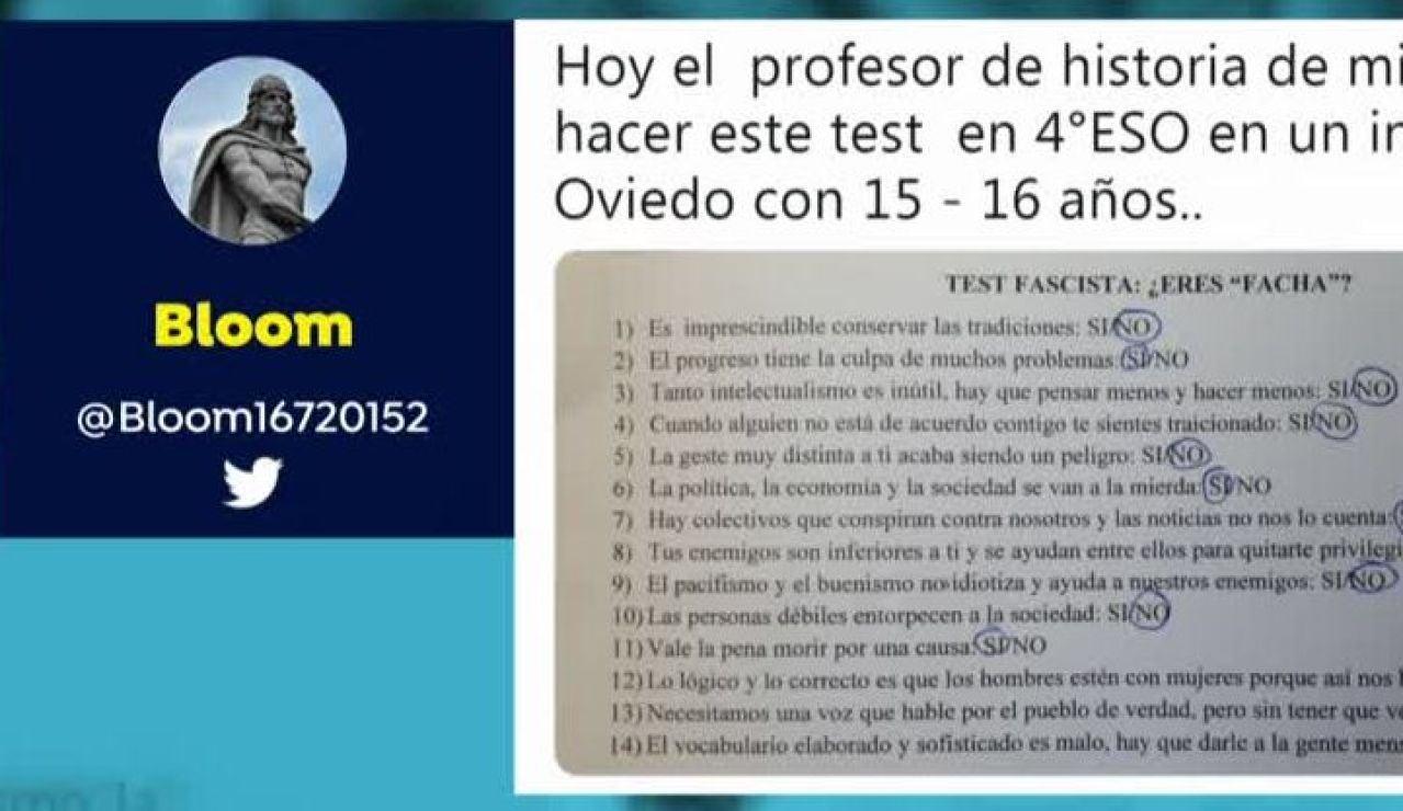 Test facha en Oviedo