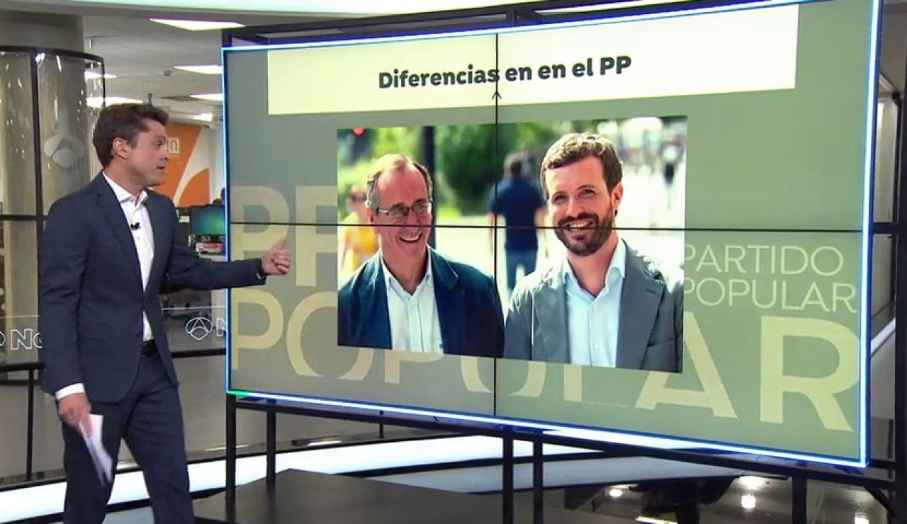 El presidente del PP vasco, Alfonso Alonso, no acepta las condiciones del pacto con Ciudadanos