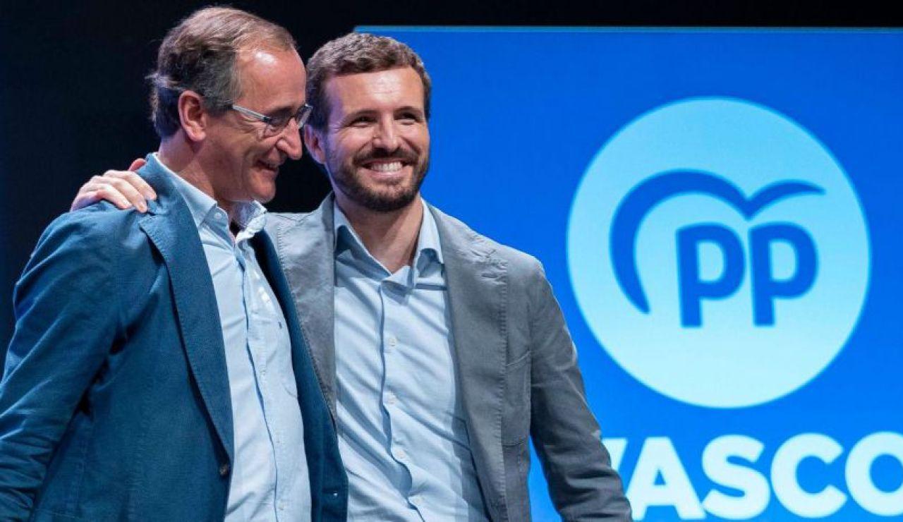 Alfonso Alonso y Pablo Casado