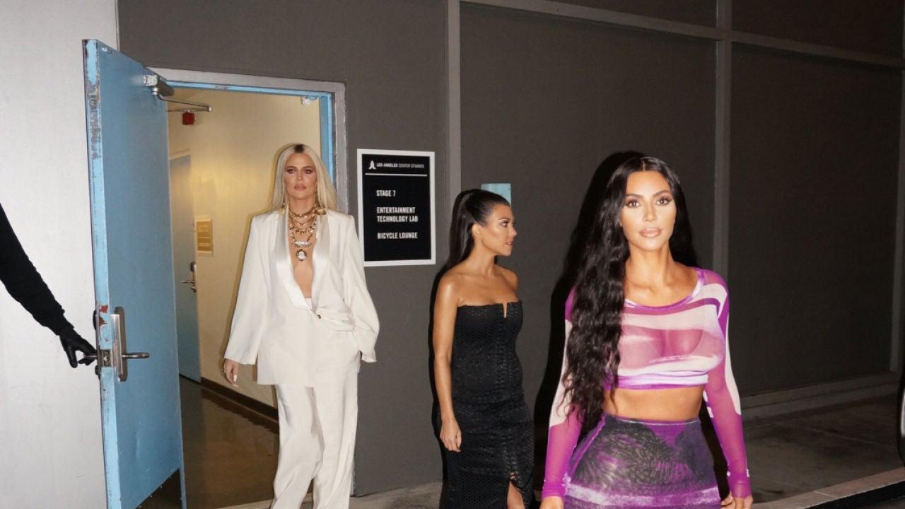 La Foto Que Demuestra Que Kim Khlo U00e9 Y Kourtney Kardashian