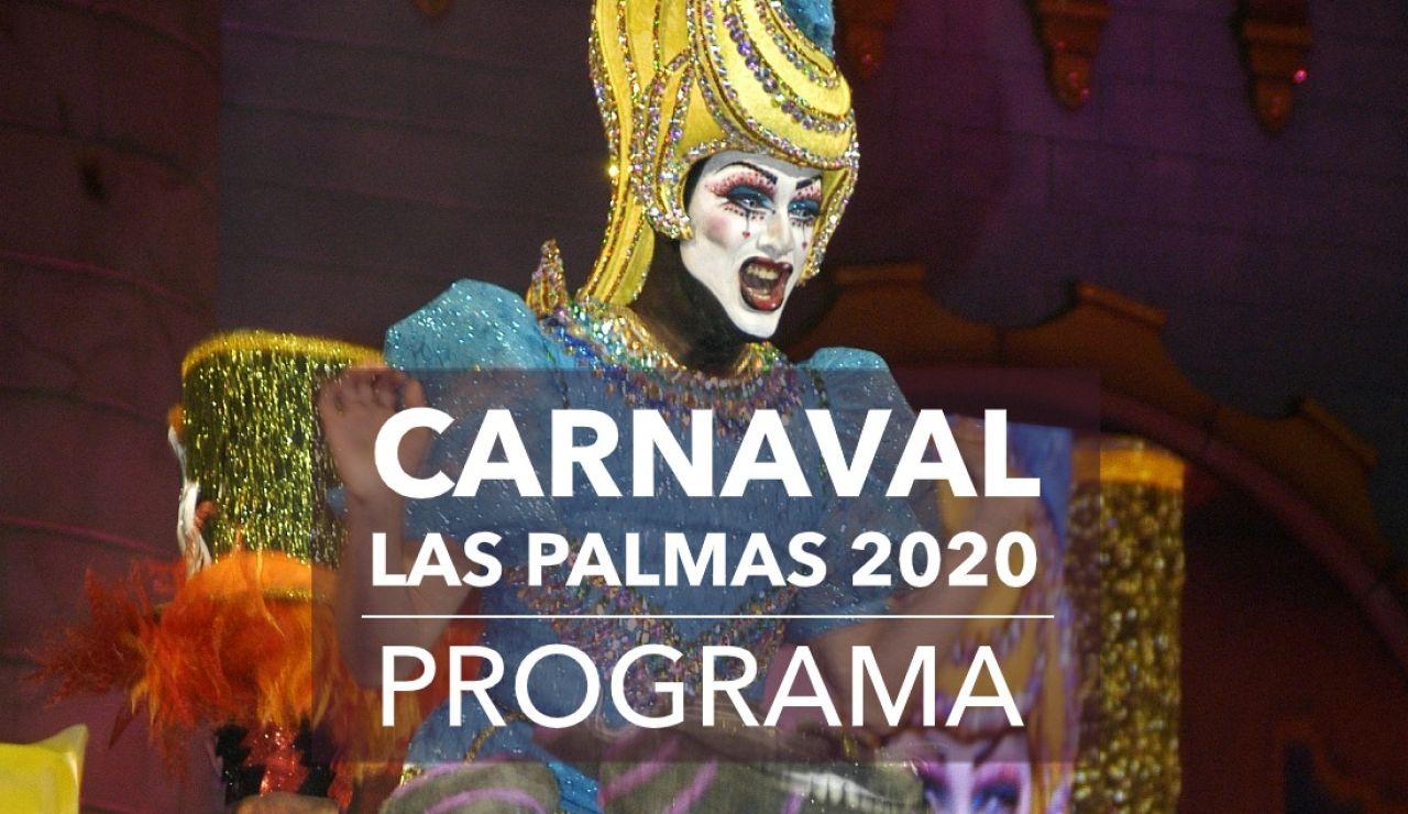 Carnaval Las Palmas 2020: Programa del carnaval hoy sábado 22 de febrero