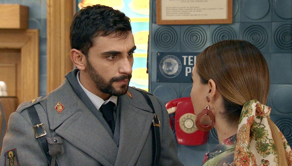 Luisita desesperada al enterarse de que Sebas está arriesgando a su trabajo