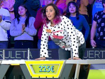 La espectacular remontada de Paola para llegar a la gran final de 'La ruleta de la suerte'