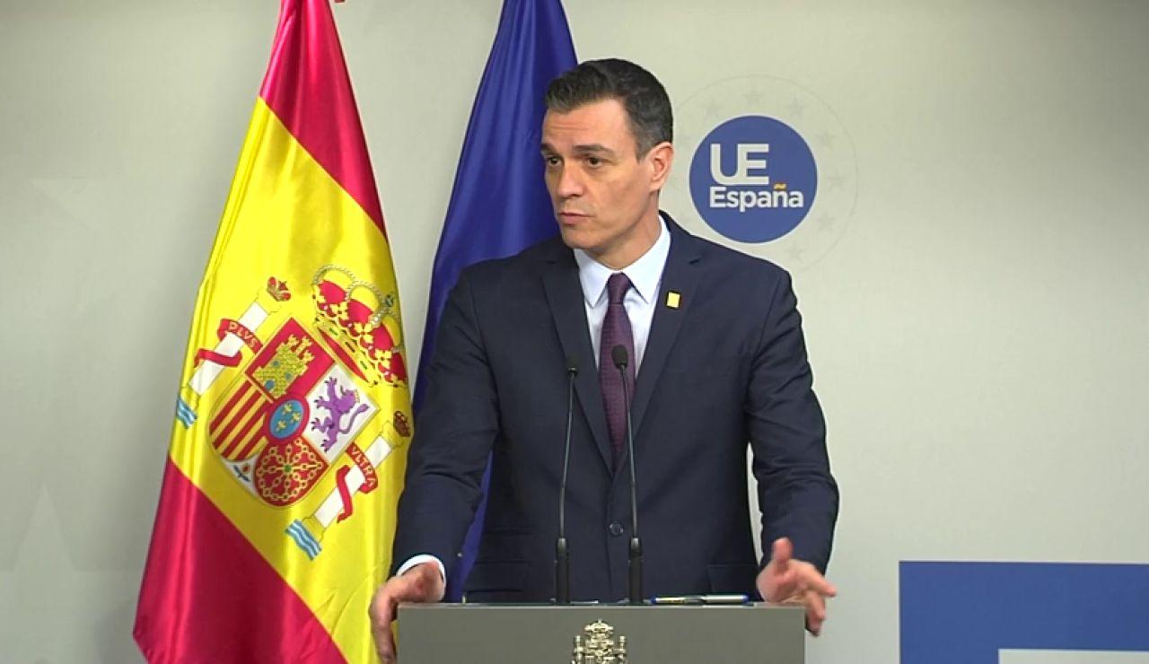 """Pedro Sánchez sobre las negociaciones para el presupuesto de la UE: """"El resultado es decepcionante"""""""