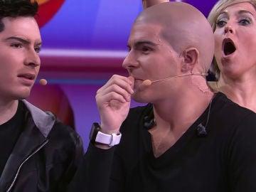 Gemeliers protagonizan un insólito momento durante el pulsador de 'Tu cara me suena'