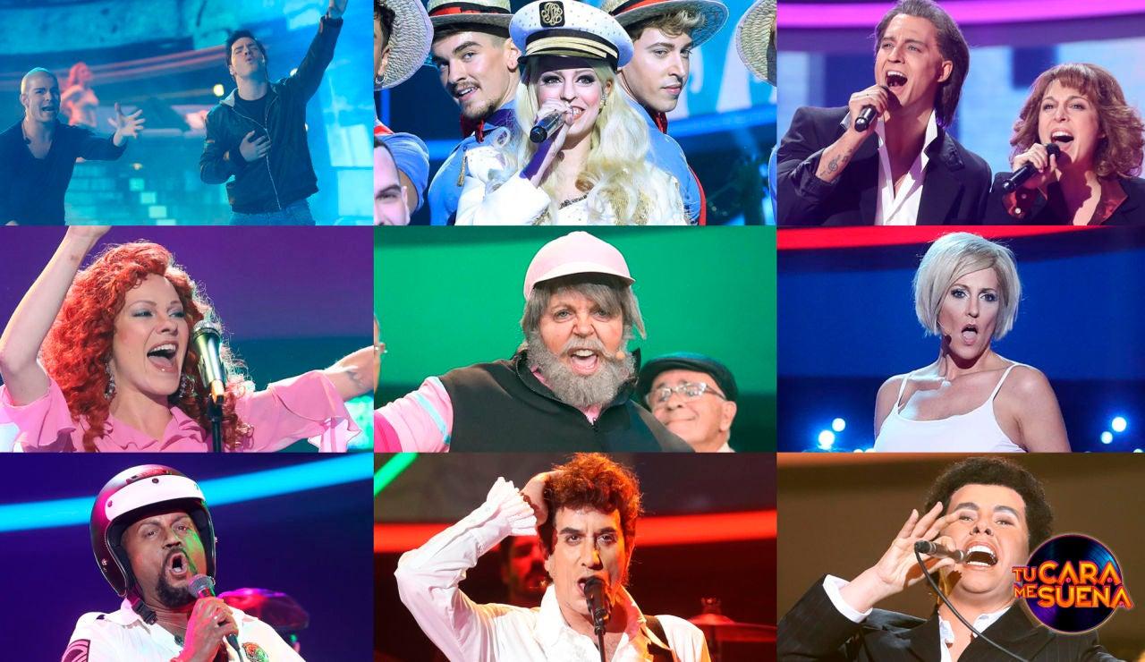 ¡Vota por la mejor actuación de la séptima gala de la octava edición de 'Tu cara me suena'!
