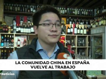 Los trabajadores chinos que se pusieron en cuarentena voluntario en España vuelven al trabajo