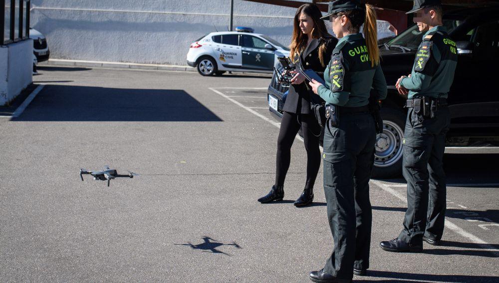'Policía del aire' de la Guardia Civil