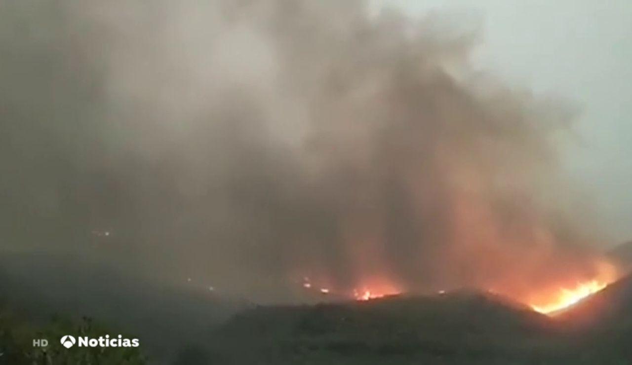 Incendio Las Palmas
