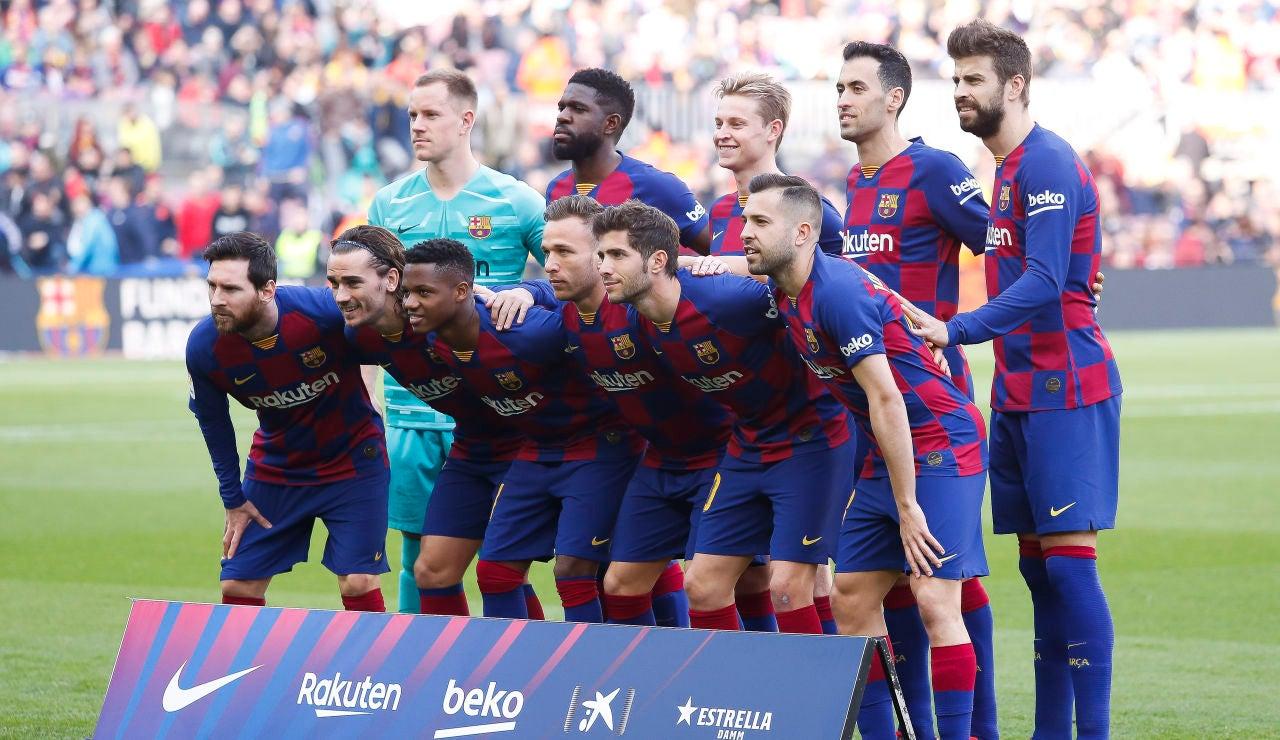 Once del FC Barcelona