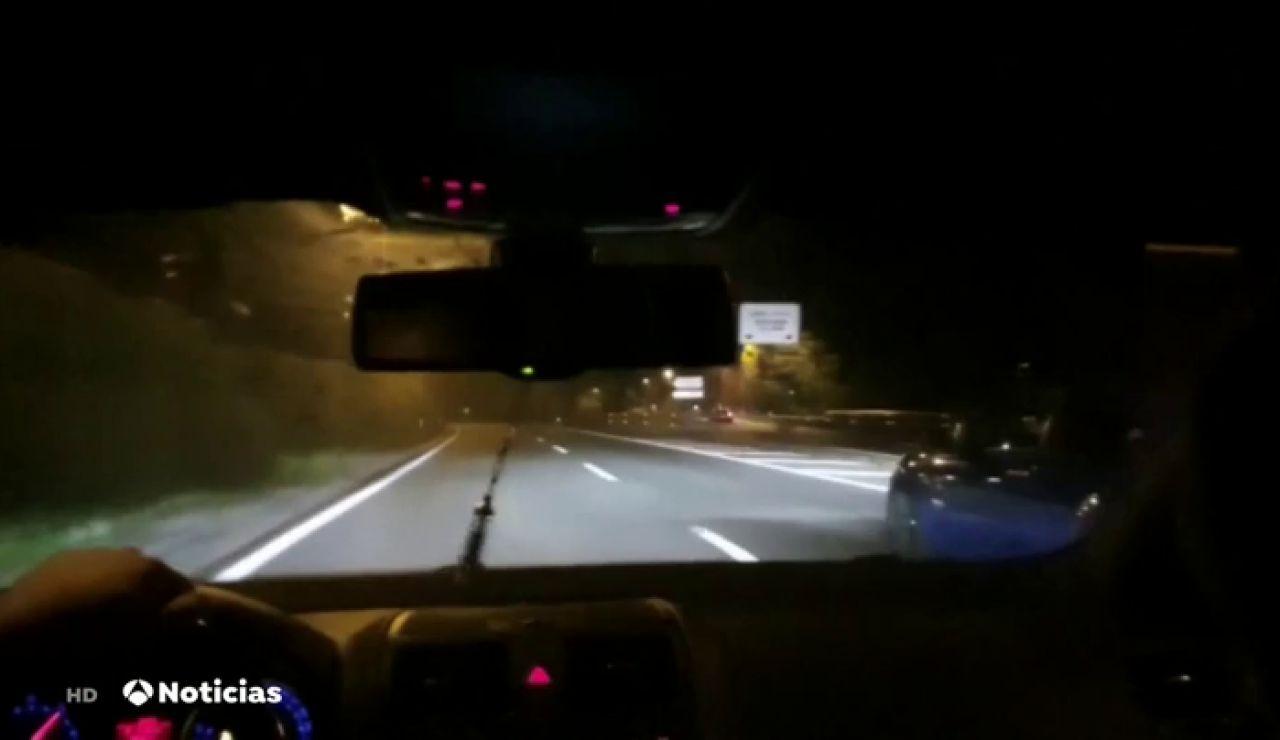 La Guardia Civil investiga a dos jóvenes por realizar carreras ilegales en Pamplona