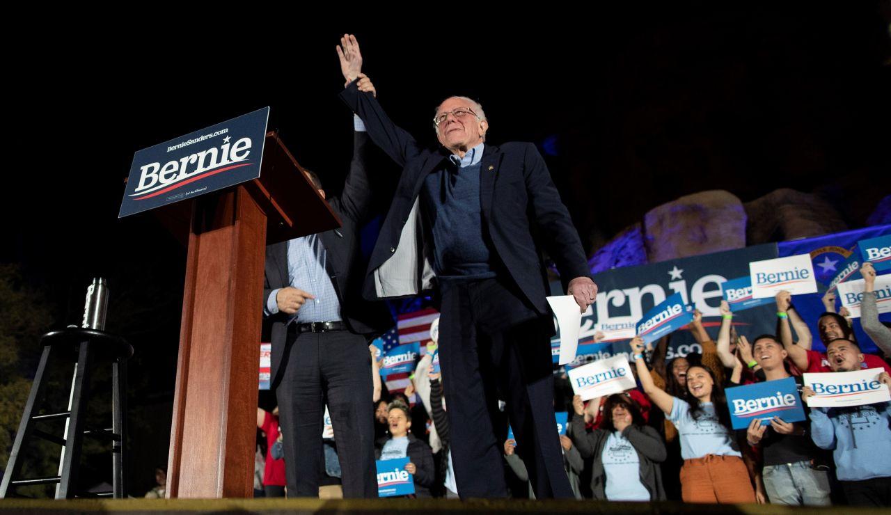 Bernie Sanders en Las Vegas
