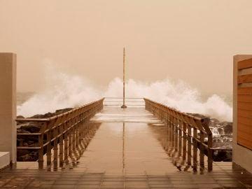 Situación en Canarias por la calima