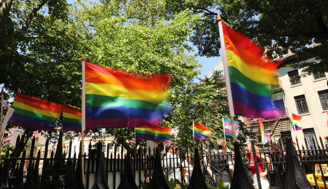 Bandera lgtb Nueva York