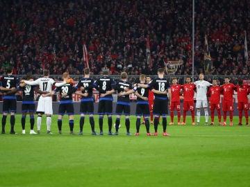Muere la sobrina de Mamba en pleno partido contra el Bayern