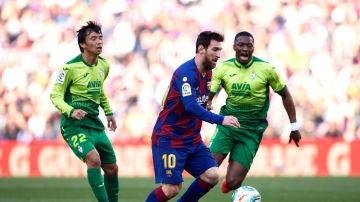 El Eibar lanza un mensaje de admiración por Messi