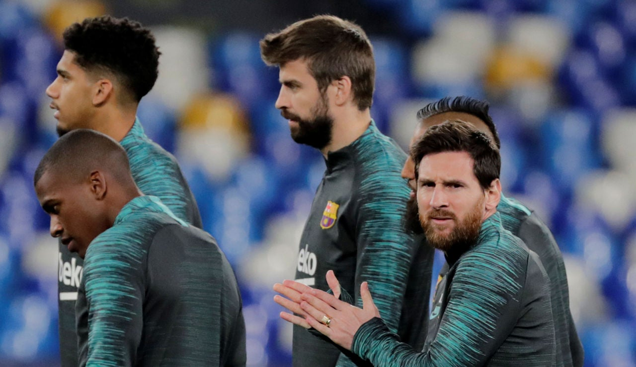 Gerard Piqué entra en la convocatoria ante el PSG tras tres meses lesionado