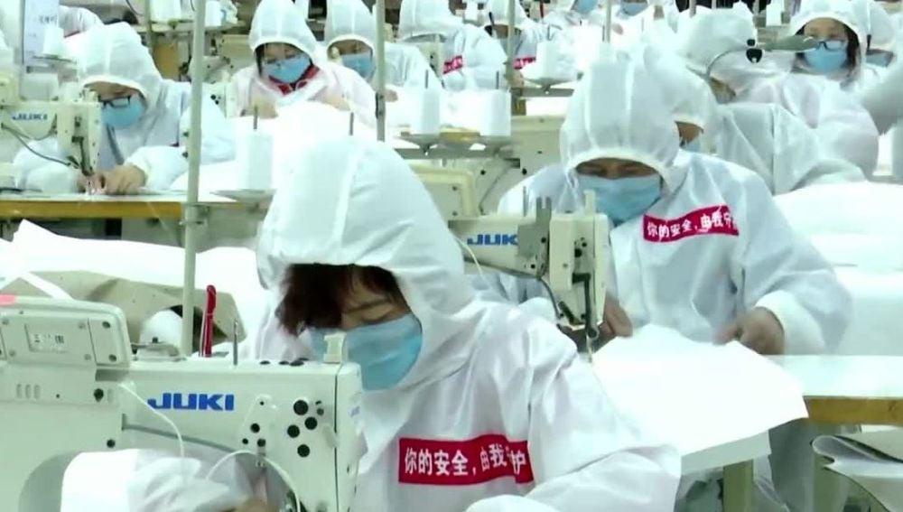 China sigue intentado recuperar la normalidad