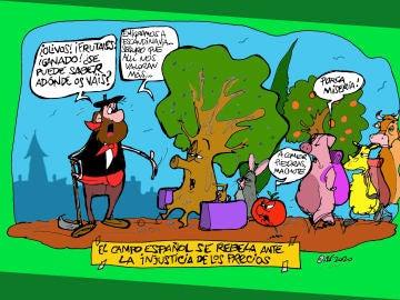 El campo español se rebela ante la injusticia de los precios