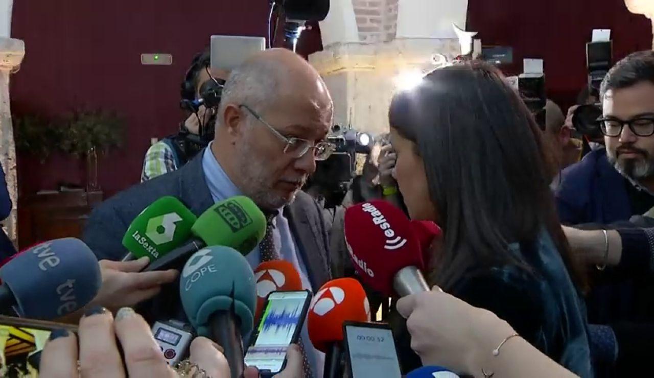 La tensa conversación entre Inés Arrimadas y su rival en Ciudadanos, Francisco Igea