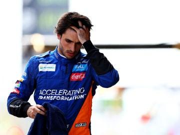 Carlos Sainz en los test de pretemporada