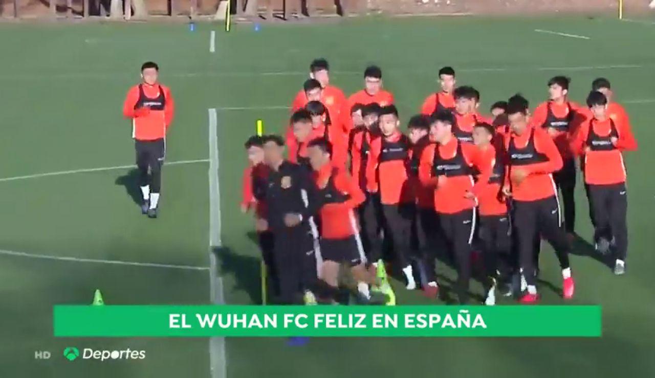 El Wuham Zall permanecerá en Sotogrande al continuar aplazado el inicio de la Liga china