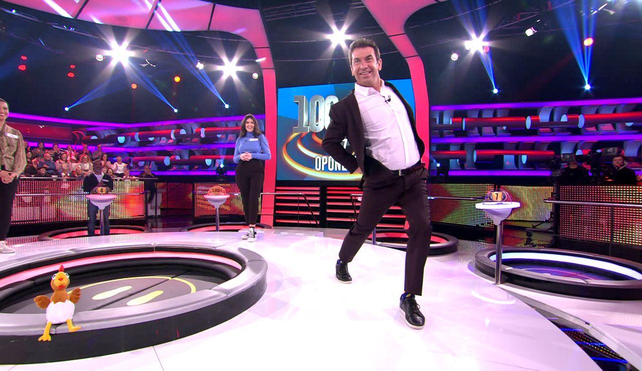 La pasarela '¡Ahora caigo!': ¿Quién desfila mejor: Nerea o Arturo Valls?