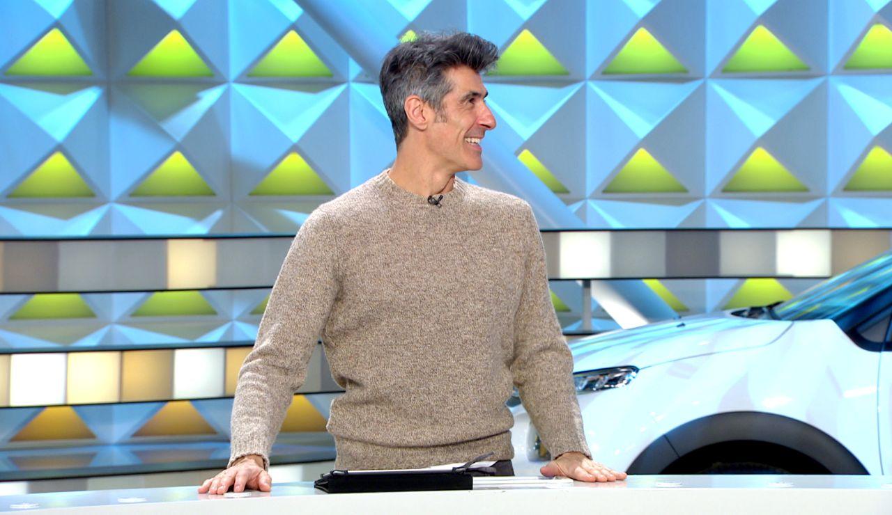 Un panel de 'La ruleta de la suerte' ha sido el causante de que el presentador se sienta mayor.