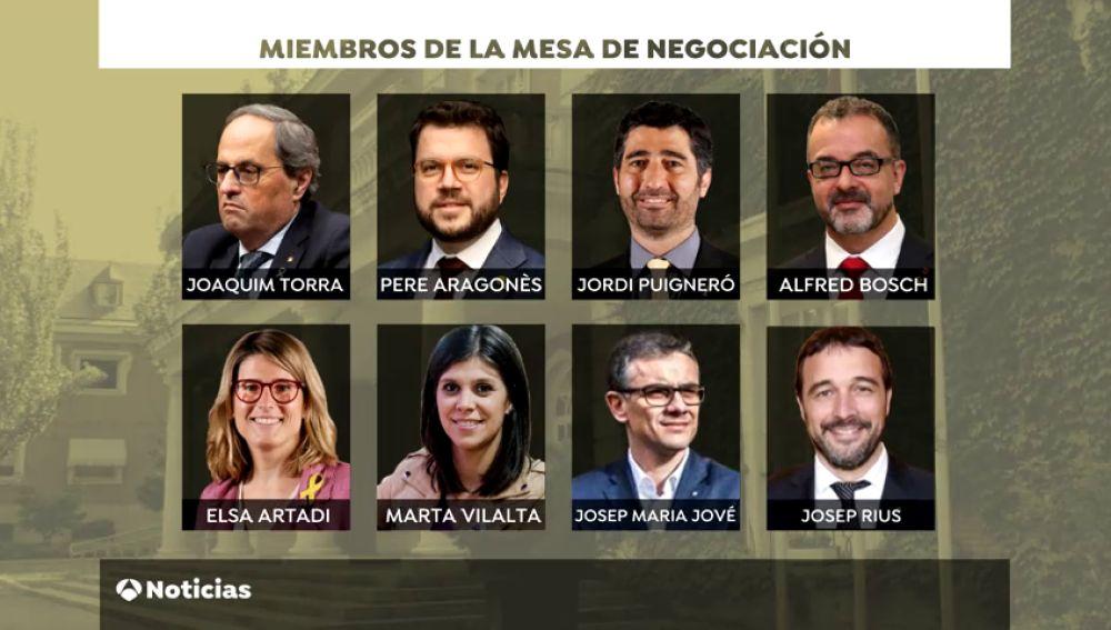 La Generalitat incluye a un investigado en la mesa con el Gobierno y Sánchez a Ábalos y Montero