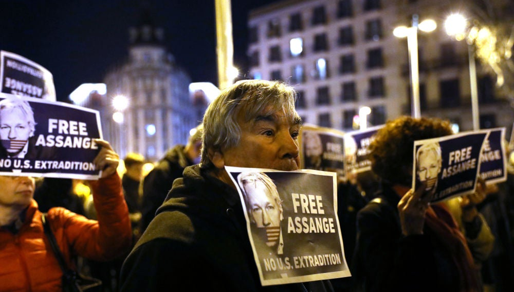 El juicio de extradicción de Assange